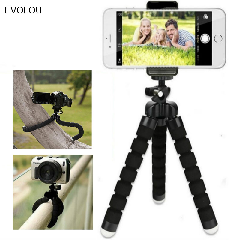 Octopus Flexible Tripod Mobile Phone Holder Camera Stand For Iphone Samsung Mini Bracket Picture Photo Taking Sport Accessories
