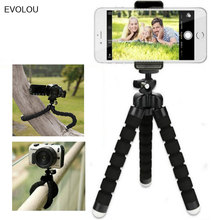 Octopus Flexible Tripod Mobile Phone Holder Camera Stand for