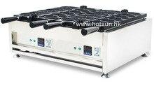 Commercial Non-stick 110V 220V Digital Electric 12pcs Taiyaki Fish Waffle Maker Iron Machine