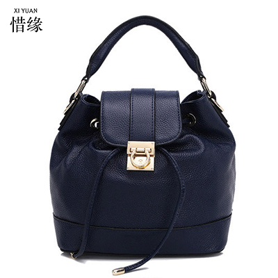 XIYUAN BRAND 2017 Real Leather Women hot pink Shoulder Bag Vintage Style Small Crossbody Bag Female Handbags For Girls bolsas 4 in 1 composite bag female lolita style zipper leather cute bear pendant designer brand handbags for women bolsas de couro 49