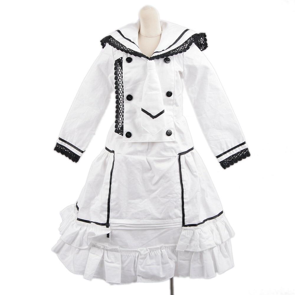 [wamami] 800# White Dress/Clothes For 1/6 SD DOD AOD BJD Doll Dollfie [wamami] 140 pink lace dress clothes 1 3 sd dz dod aod bjd doll dollfie