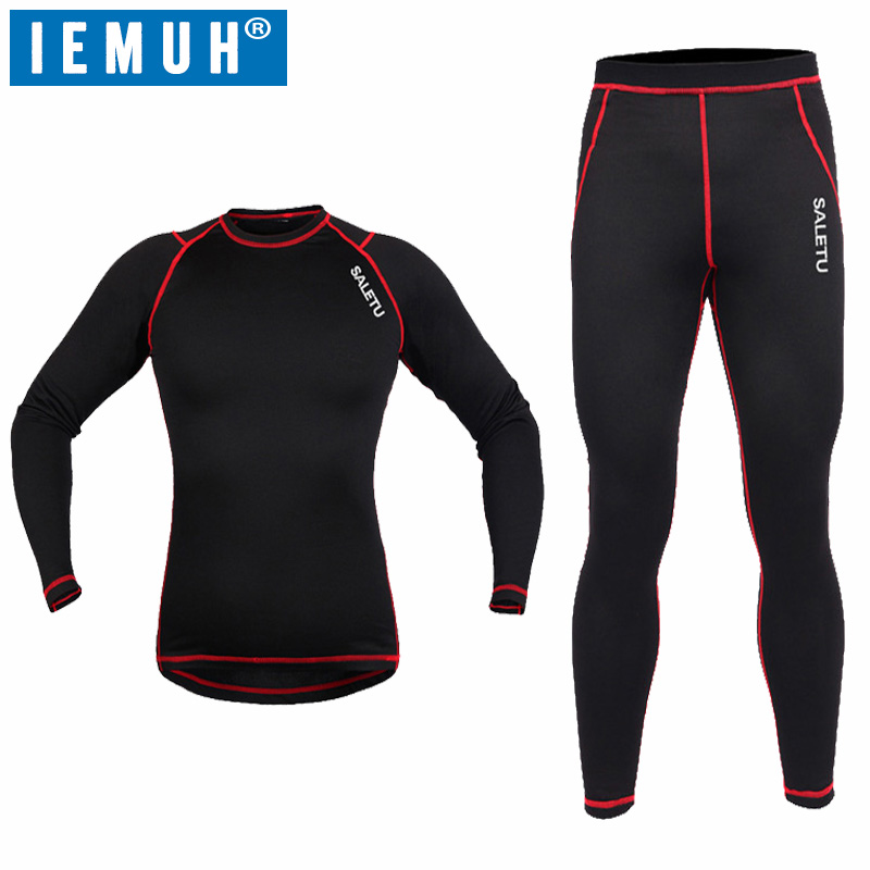 IEMUH Brand Winter Warmthtm Sports Thermal Underwear for sports Men Quick Dry Anti-microbial Stretch Men's Thermo Underwear ruminant feeds evaluation for microbial biomass synthesis efficiency