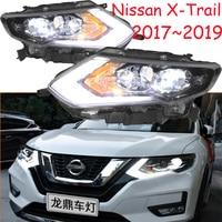 LED,X Trail headlight,2017~2018,Free ship! X Trail fog light,Almera,altima,altra,cabstar,titan,Tsuru,Urvan,Rogue,x trail;xtrail