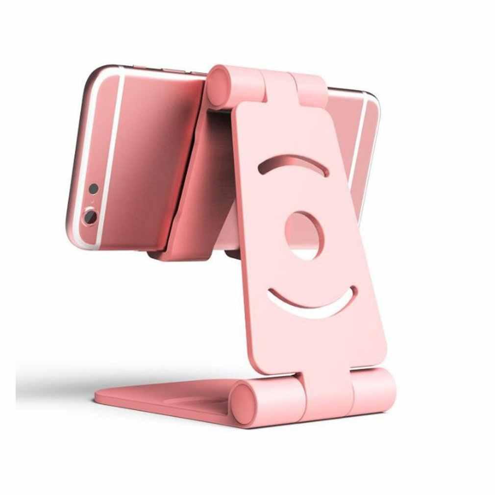 Soporte portátil de Mini escritorio para teléfono móvil, soporte para tablets, soporte Universal plegable para Smartphone