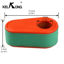 KELKONG 1Pc Air Filters and Pre Filters For Briggs & Stratton 795066 796254 DOV Engines 7HP TO 8.75HP Lawn Mower Carb Chiansaw