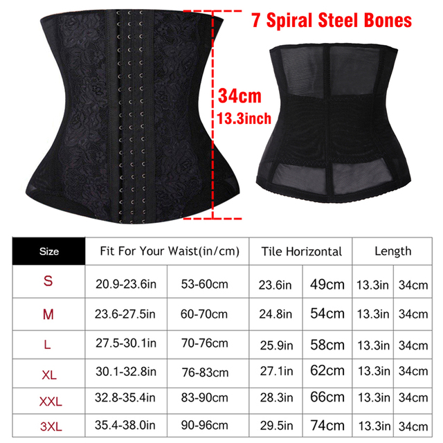 2015 Womens black long waist cincher slimmer Bind belt long waist trainer corsets steel boning sexy body shapers tummy trimmer 1