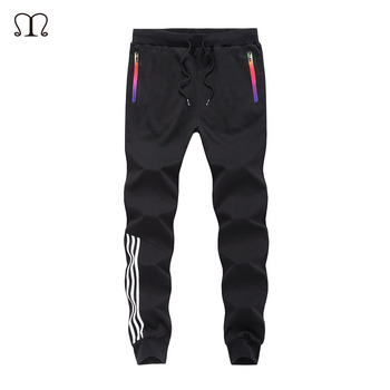 Autumn Casual Pants Men Skinny Mens Sweat Pants Male Cotton Sportswear Menswear Thick Warm Long Casual Trousers Straight Pants Sweatpants