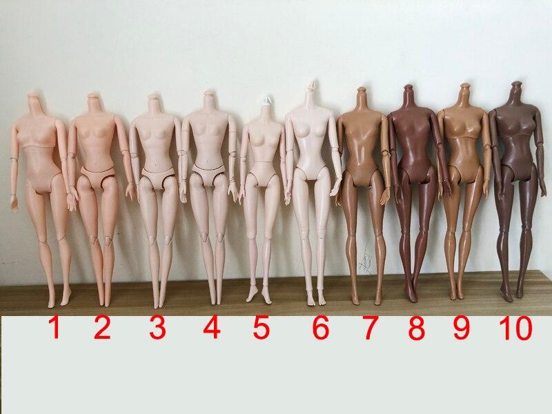 29cm poupée nue corps articulations poupée corps nu 11,12, 16 articulée mobile poupée corps pour 1/6 poupée corps pour filles jouets