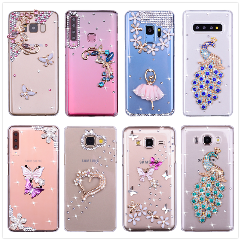 Phone Case For Samsung A50 A70 A20e clear Silicone Back Case For Galaxy Note 10 A30 S8 S9 S10 Plus A6 A8 A9 A7 2018 J4 J6 J7 Neo