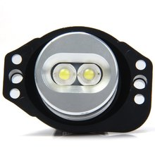 Auto Angle Eyes Marker Light Bulb Car External Lights 2pcs 5W Applicable for BMW E90 E91 – Super Bright White Light for Vehicle