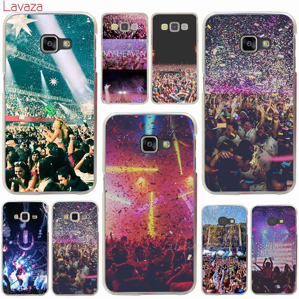 Lavaza Ultra Music Festival Hard Phone Case for Samsung Galaxy A8 A7 A3 A5 2015 2016 2017 2018 Note 8 5 4 3 Grand Prime 2