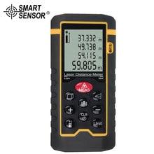 SMART SENSOR Digital Distance Range 0.05-40/60/80/100 Meter Laser Range Finder Measure digital laser distance meter 1pc 40 60 80 100m range finder measure diastimeter