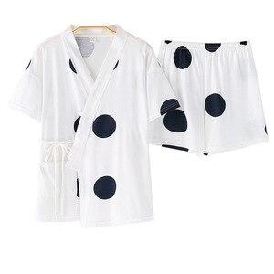 Image 2 - 2020 New  Sleepwear Ladies Summer Pure Cotton Short Sleeve 2pcs Thin  Summer Pajamas Set Pajama Sets Women