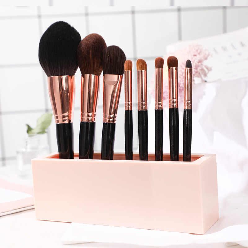 Силиконовый органайзер для макияжа, коробка для хранения кистей, косметические принадлежности подставка для помады, чехол, подставка для дисплея, инструменты, ювелирный держатель для дома