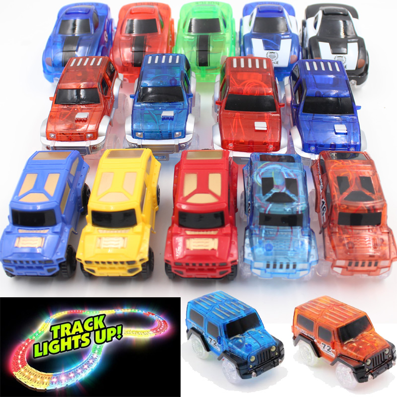 8-Styles-Electronics-Magic-Track-Cars-Led-Flashing-for-Glow-in-the-dark-Tracks-Toys-For-Kids-1