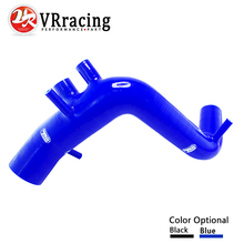 VR RACING-Silicone Turbo Inlet Radiator Hose Pipe for VW MK4 1J Beetle/Golf GTI/Jetta L4 1.8L BLUE,BLACK VR-LX-2206