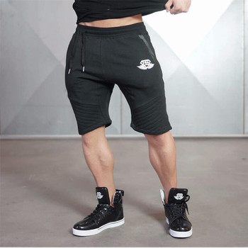 new arrival  Mens tight bodybuilding camouflage shorts workout Gym running shorts 6 colors 2
