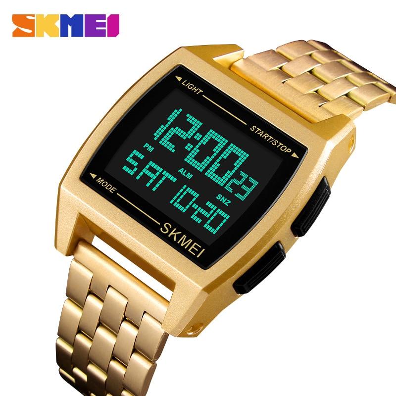 Men Chronograph Sport Watch Stopwatch Man Clock Digital Watch Wristwatches Erkek Kol Saati 1368