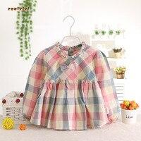 Baby Bibs Waterproof Long Sleeve Kids Girls Waterproof Floor Baby Girl Clothes Tiny Cotton Blend Autumn