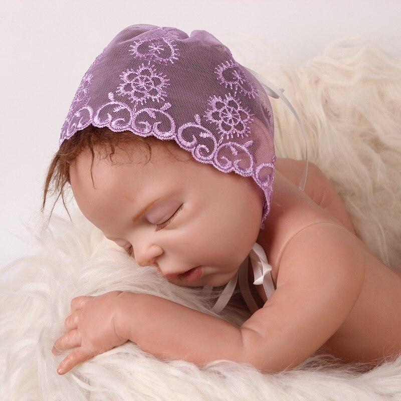 41533aedc37 Detail Feedback Questions about Lace Hollow Newborn Hats Baby Caps Beanie  Infant Beret Cap Floral Fetal Hat Bebe Balaclava Bucket Girls Sun hats  Headband ...