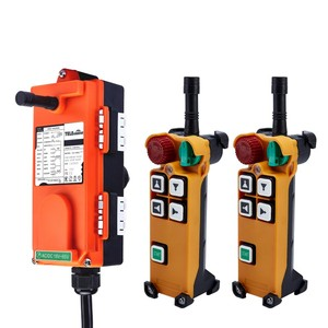 Image 2 - Telecontrol F21 4D(include 2 transmitter and 1 receiver)/crane Remote Control /wireless remote control/Uting remote control