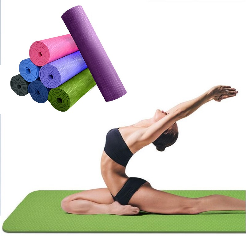 Aliexpress.com : Buy TPE Yoga Mat 6mm For Beginners Anti
