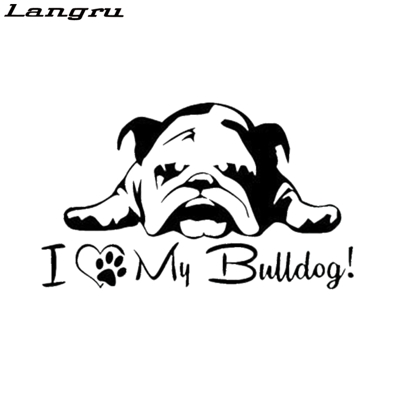 English Bulldog Mom Sticker Die Cut Vinyl British Bull Dog
