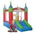 Yard pequena casa do salto salto de slides casa seguranças inflável para as crianças oferta especial para os países europeus