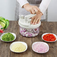 Multi function cutting vegetable meat grinder large capacity stuffing mixer ground meat mixer Kitchen Vegetable Tools mx12211550