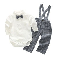 Baby Boy Clothing Autumn Spring Baby S Sets Long Sleeve Fashion Gentleman Baby Boy Clothes Set