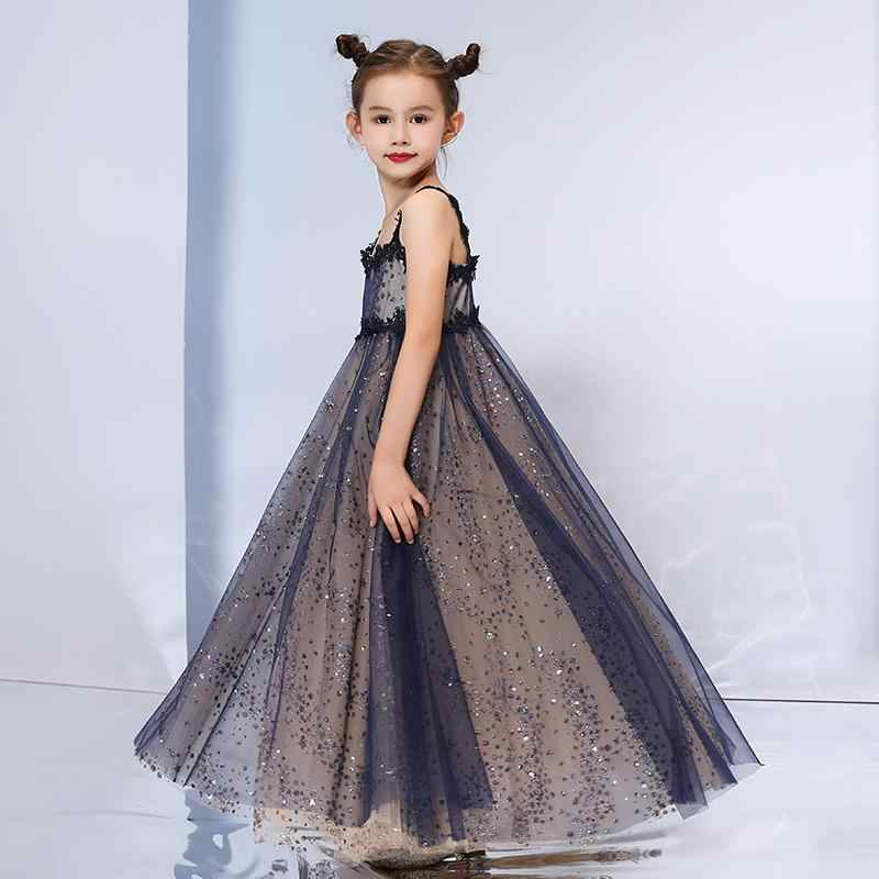 98d1a7487d Mother Daughter Dresses 2018 Mommy Girl Sequin Matching Twinning Party  Dress Family Look Outfits Girl Mom Clothing JN632