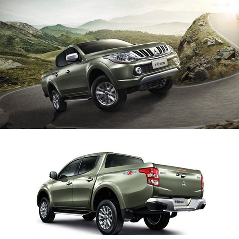 2017 For Mitsubishi L200 Triton Black Door Handles Covers Trim Pickup Handle Ycsunz In Exterior