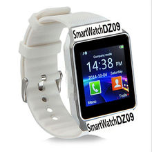 Fashion Smart Watch DZ09 Sim Watch Support TF Card Bluetooth Smartwatch Clock GSM Call Support Standard