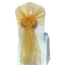 цены на factory price with best quality !!!! 100pcs  gold satin & lycra chair Hood  & chair cover sash   FREE SHIPPING   в интернет-магазинах