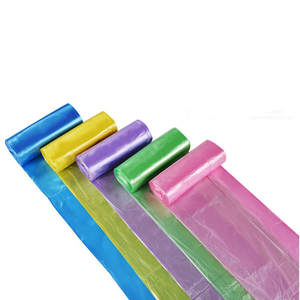 Waste-Bag Size-Garbage-Bags Plastic Thick 1-Rolls Environmental-Cleaning Convenient Single-Color
