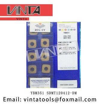 free shipping high quality 10pcs/lots YBG302 YBM351 SDMT120412-DM cnc carbide milling inserts