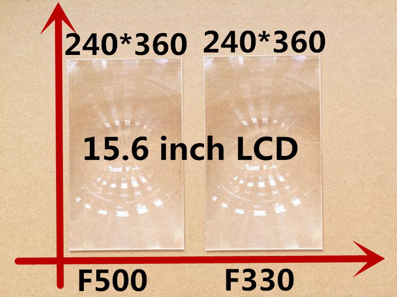 2 pièces/ensemble livraison gratuite 15.6 pouces projecteur professionnel lentille de fresnel module avec HD rainure fine pas bricolage projecteur lentille de Fresnel