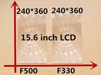 2pcs/set Free shipping 15.6 inch professional projector fresnel lens module with HD fine groove pitch DIY projector Fresnel Lens
