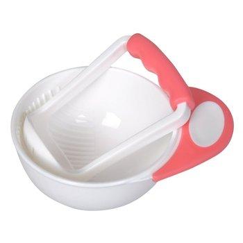 Bebé chico aprende platos tazón de molienda hecho a mano suplemento de alimentos niños Molino de alimentos para niños