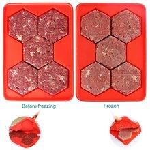 Форма + магазин бургер мастер пресс для бургеров 5 в 1 силиконовая форма для мяса торт производитель гамбургеров шестиугольный пресс для фарша морозильник контейнер