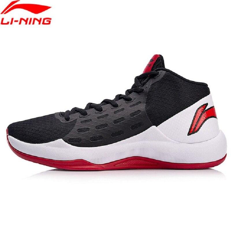 Li-Ning 2018 Для мужчин Sonic баскетбольной команды на туфли-лодочки анти-скользкие Li Ning дышащая Спортивная обувь переносные кроссовки ABPN009