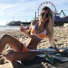 цены на Peixevodor Bikinis Set Swimwear For Women Push Up Swimming Bench Bathing Suits Two Pieces Swimsuits  в интернет-магазинах