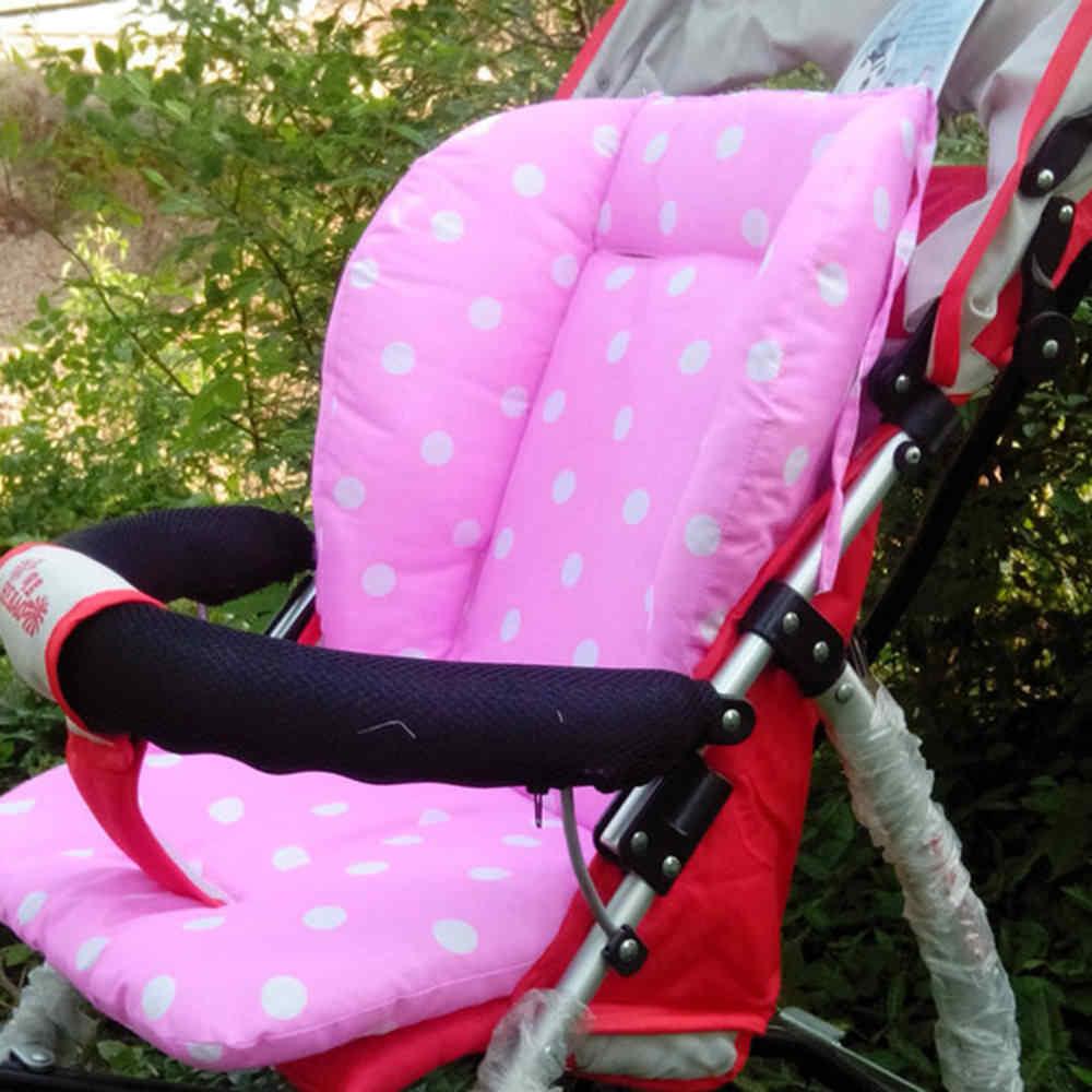 2018 Фирменная Новинка для новорожденных, детей ясельного возраста одежда для детей и малышей автомобиль Детская коляска Коляска Подушка для стула вкладыш коврик для тела Поддержка сиденье в горошек подушки