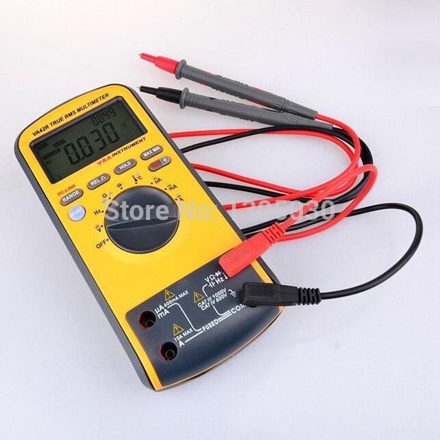 1PC VA42R 6600 Counts TRUE RMS Safety Digital Multimeter Fit Backlight with USB Interface VA42R1PC VA42R 6600 Counts TRUE RMS Safety Digital Multimeter Fit Backlight with USB Interface VA42R