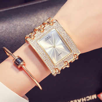 G&D Luxury Brand Women Watch 2019 Gold Women Quartz Wristwatches Rhinestones Ladies Watches Relogio Feminino Relojes Mujer Clock - DISCOUNT ITEM  9% OFF All Category