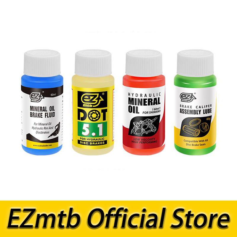 ezmtb mineral oil brake oil Dot 5.1 brake fluid 120ml for shimano&tektro&magura&avid&sram&formula& hope motul dot 5 1 brake fluid