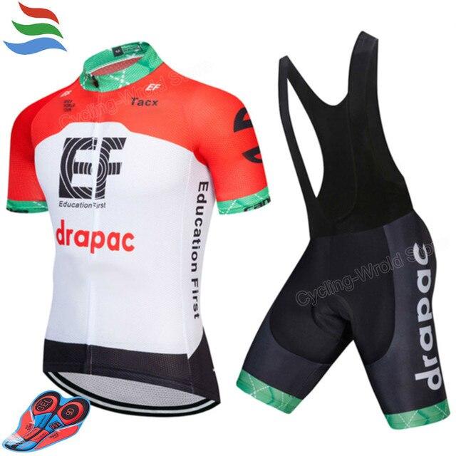 333ddeebe 2018 New Cycling Jersey EF 9D GEL Pad Good Quality Cycling Set Men Quick Dry  Roupa