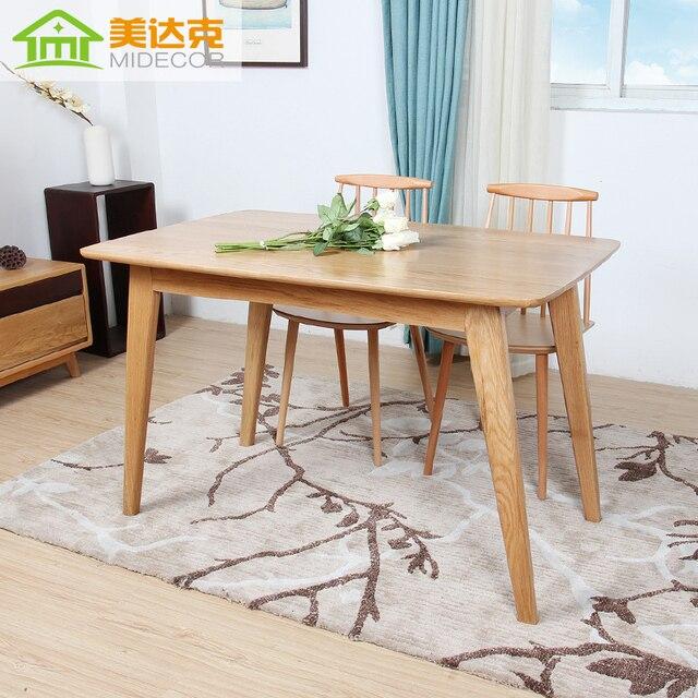 Madera de estilo japonés mesas Nordic simple rectangular muebles de ...