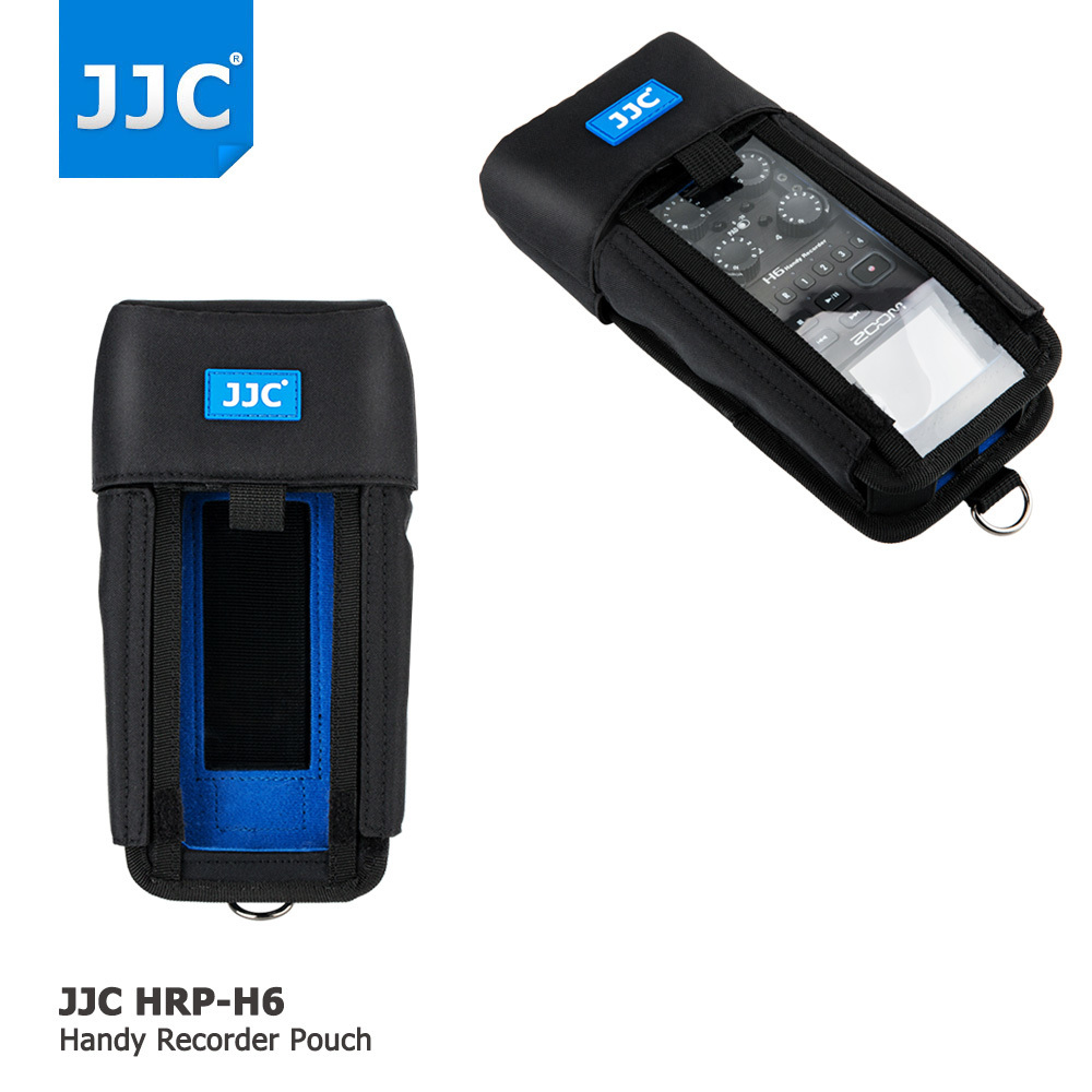 JJC Record Protector Holder Soft Case Handy Recorder Pouch Bag For Zoom H6