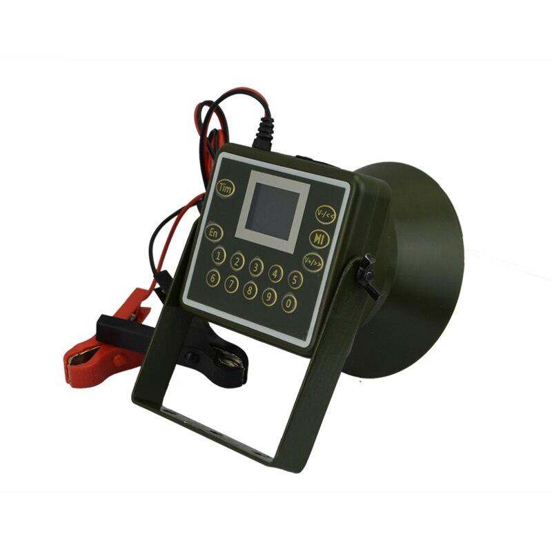 Extérieur oiseau appelant lecteur MP3 oiseaux son haut-parleur 60 W oie canard faune chasse leurre